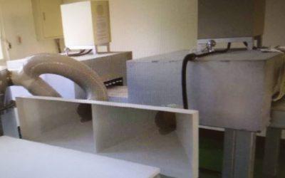 Maquinas de última generacion para la nuevas fabricacion de lamparas infrarrojas.