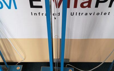 EVP BUE 150VT , la torre UVC que se recomienda en dental tribune