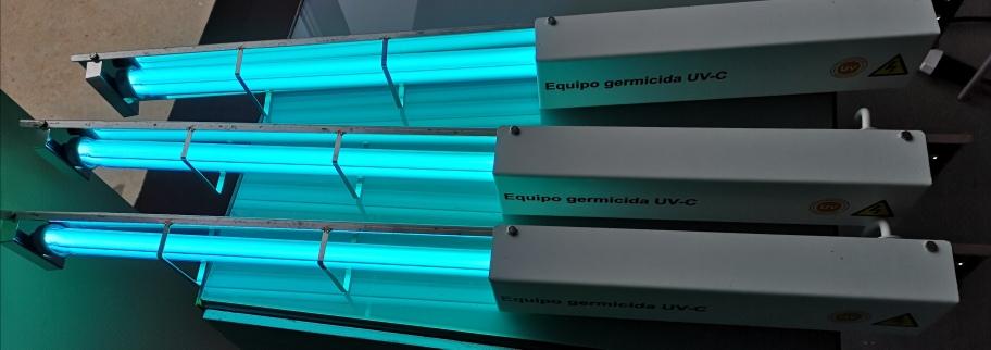 La luz ultravioleta  puede matar el coronavirus en las superficies