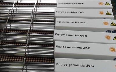 La revista Nature ha publicado un informe donde recomienda el uso de equipos de desinfección ultravioleta como los de E. Vila projects.