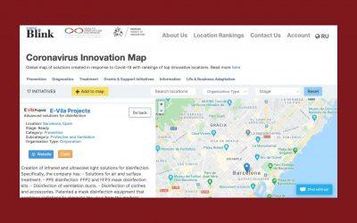 Coronavirus Innovation Map