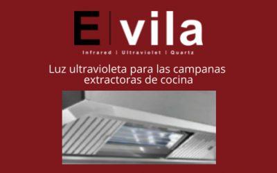 Luz ultravioleta para las campanas extractoras de cocina
