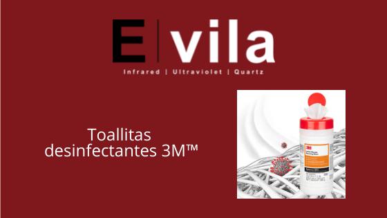 E. Vila projects distribuye las toallitas para atrapar microorganismos 3m