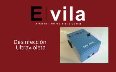 Equipo de desinfección ultravioleta EVPBlue30b