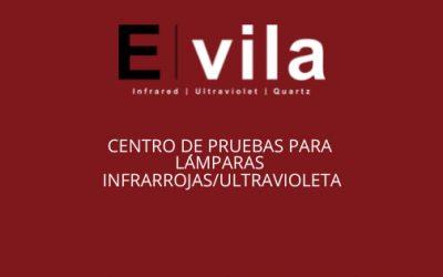 Laboratorio de pruebas para lamparas infrarrojas/ultravioleta de E. vila projects