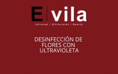Desinfección de flores con ultravioleta